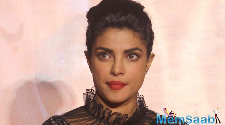 For the last time filmmaker, Prakash Jha was asked about Priyanka's absence, he had emphasised that she was promoting the film through Skype