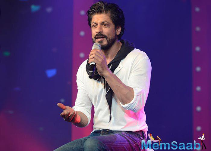 Shah Rukh Khan has been busy the past few days, dubbing for his forthcoming film Fan.