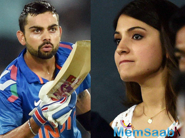 After Ranbir and Katrina break up, a new was ripe about   Virat and Anushka split.
