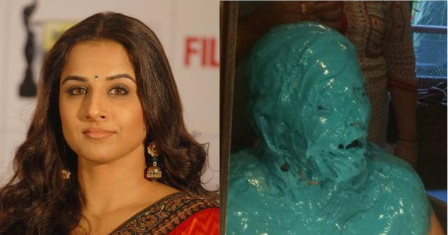 The new picture of Vidya absolutely raises the level of excitement and curiosity.