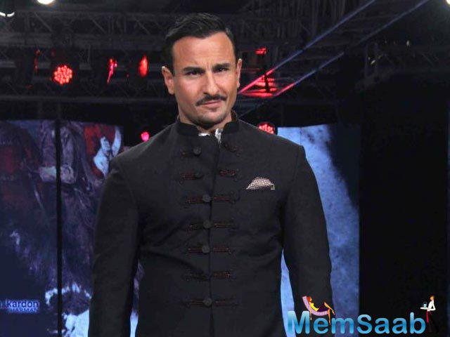 A report from the set, Saif Ali Khan and Shahid Kapoor are cordial with each other at work.