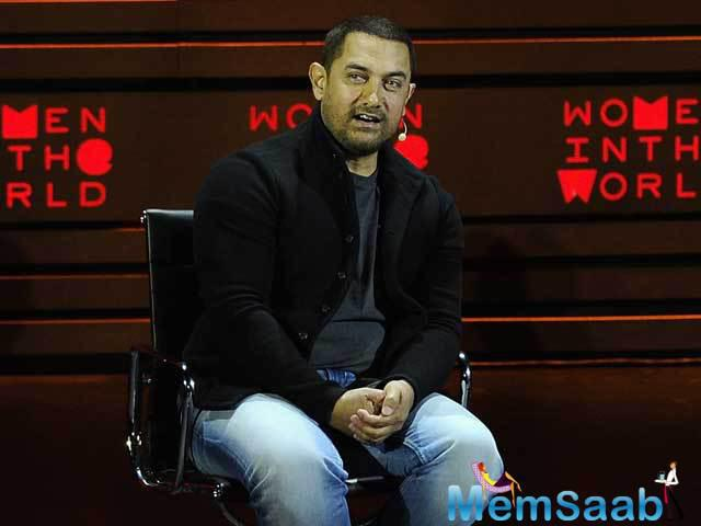 Aamir, who hit headlines with his remarks that his wife was thinking of leaving India over growing intolerance,