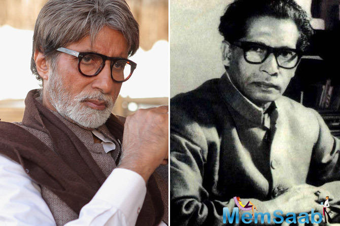 The actor Amitabh Bachchan captioned the image saying more his inspiration by being on his chair