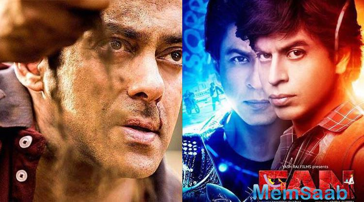 It is a known fact that Salman Khan and Shah Rukh Khan are the new best buddies in Bollywood.
