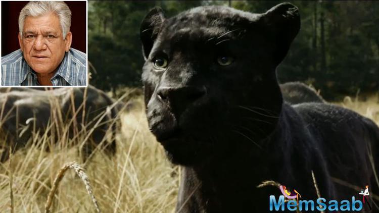 Actress Shefali Shah will dub for Mowgli's the wolf Raksha. Om Puri will voice the black panther Bagheera.