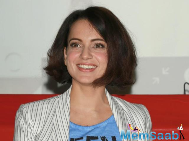 While we saw the actress go on and on about 'Aligarh' at the movie's special screening, now recent reports suggest that Kangana is no long sure about doing the director's next.