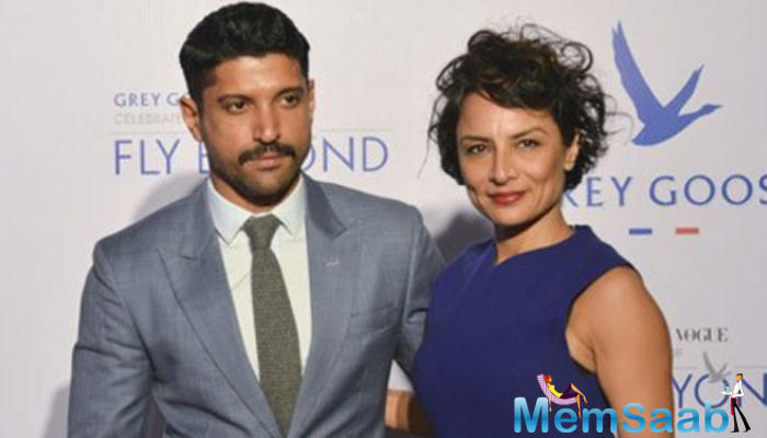 Actor Farhan Akhtar, who recently split from his wife after 15 years of marriage, has declined to comment on his alleged linkups with actresses Aditi Rao Hydari and Kalki Koechlin.