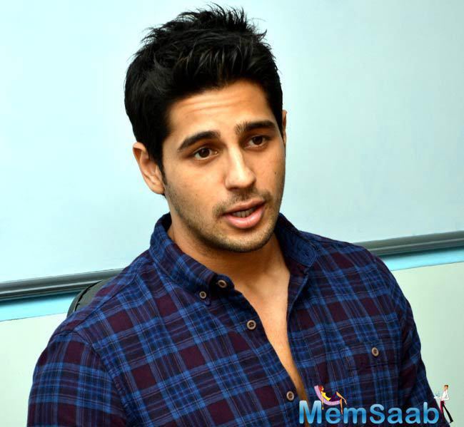 Sidharth revealed that the film is different from Bang Bang however the action is stylish and real.
