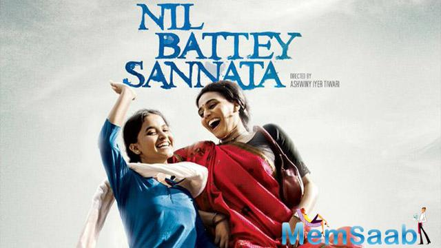 Looks the poster where Swara (playing the role of the mother) and her teenage daughter jumping in happiness.