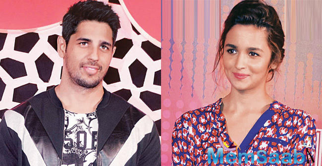 During one of the promotional events for Kapoor and Sons, Alia Bhatt was asked if it was difficult shooting with Sidharth given their equation with each other.