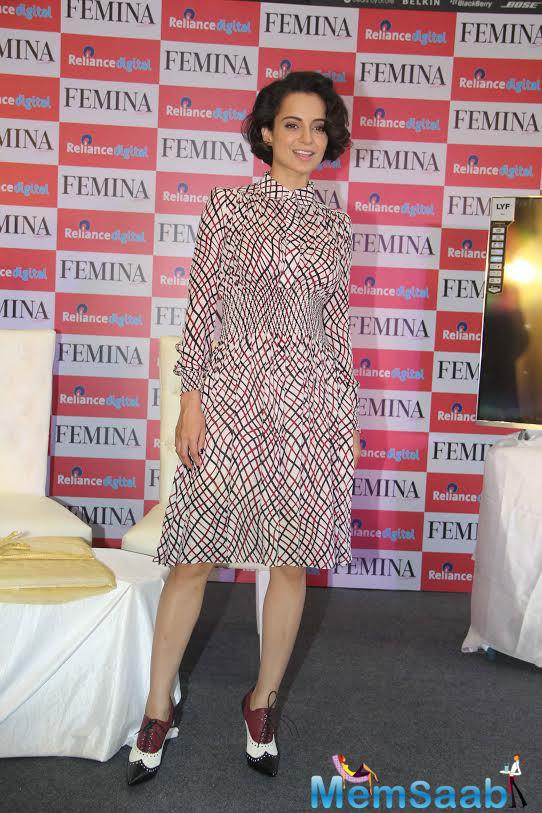 Kangana said, 'I want the society to applaud and acknowledge people who are real heroes',