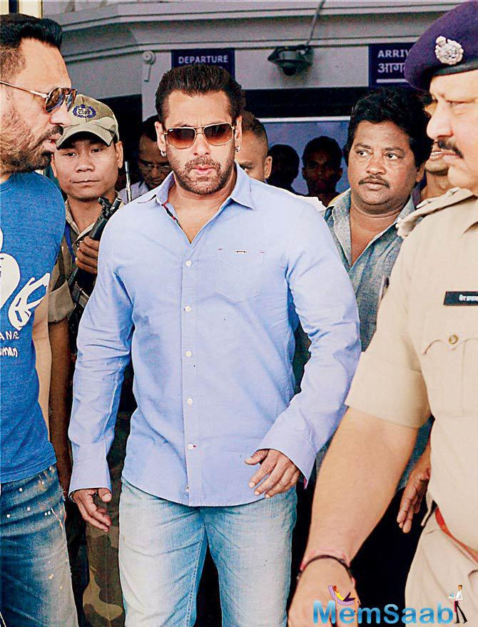 Salman Khan was deported by the Bombay high court in the 2002 hit-and-run case, earlier this year.
