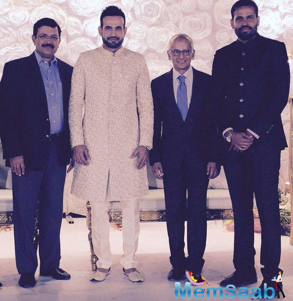 Yusuf Pathan's wedding reception was also kept back at the same venue when he hooked up. Industralist Jay Mehta was also present here.