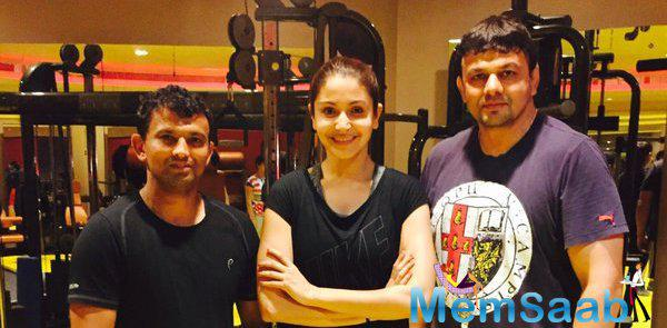 Anushka Sharma has been training hard for the past few months to get fit for the role