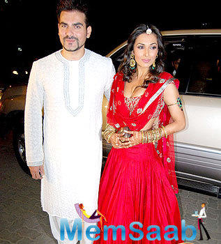 Arbaaz Khan and Malaika Arora married each other on December 12, 1998 after five years of being in a  good relationship.