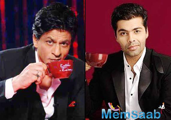 Koffee With Karan Season 5 coming soon, and SRK will be the inaugural guest of this show, revealed by show host Karan Johar.