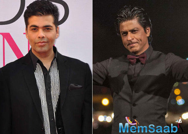 Lets see, what magic is SRK-KJo pair creating this time in the show 'Koffee with Karan'