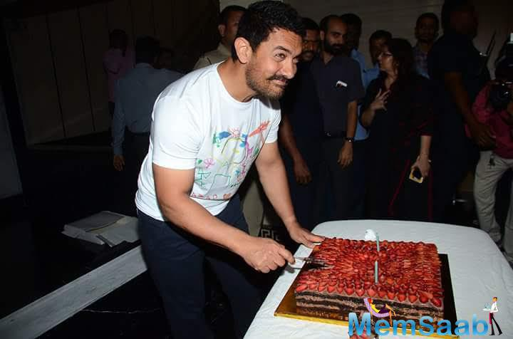 The 'PK' star Aamir was speaking at a press conference held to mark his 51st birthday.