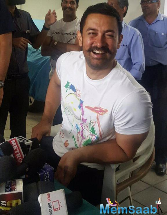 Aamir Khan also wished Salman, who is playing a wrestler in Sultan, all the best for his upcoming film.