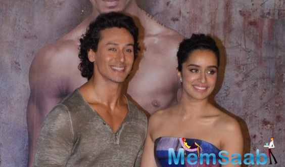 Ever since Sabbir Khan announced his new offering 'Baaghi', fans have been waiting to get a glimpse of actress Shraddha Kapoor and Tiger Shroff in the action packed film.