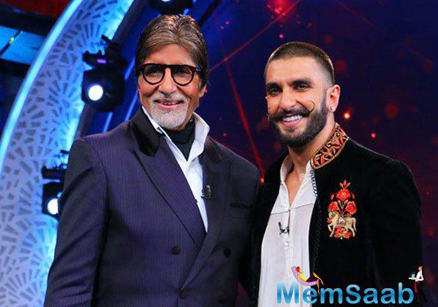 Ranveer  will light up the stage at the Times Of India Film Awards TOIFA in Dubai later this week in a tribute to megastar Amitabh, revealed Shiamak Davar, who is choreographing the performances for the event.