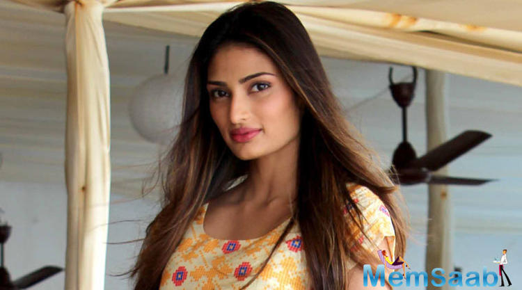 Athiya Shetty, who made her Hindi film debut last year with 'Hero', reacting to link up rumour and said don't give any thought in it.