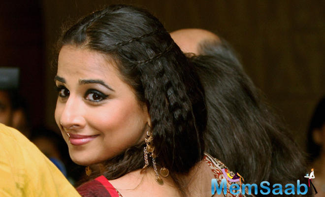 It is needless to say that Vidya Balan and Arjun, who are sharing the silver space for the first time, will make a good pair.