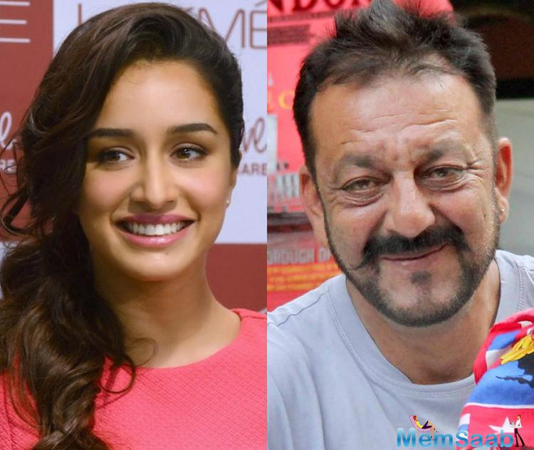 Bollywood young rising star Shraddha said in an interview, 'I've not been offered a film with Sanjay Dutt'.
