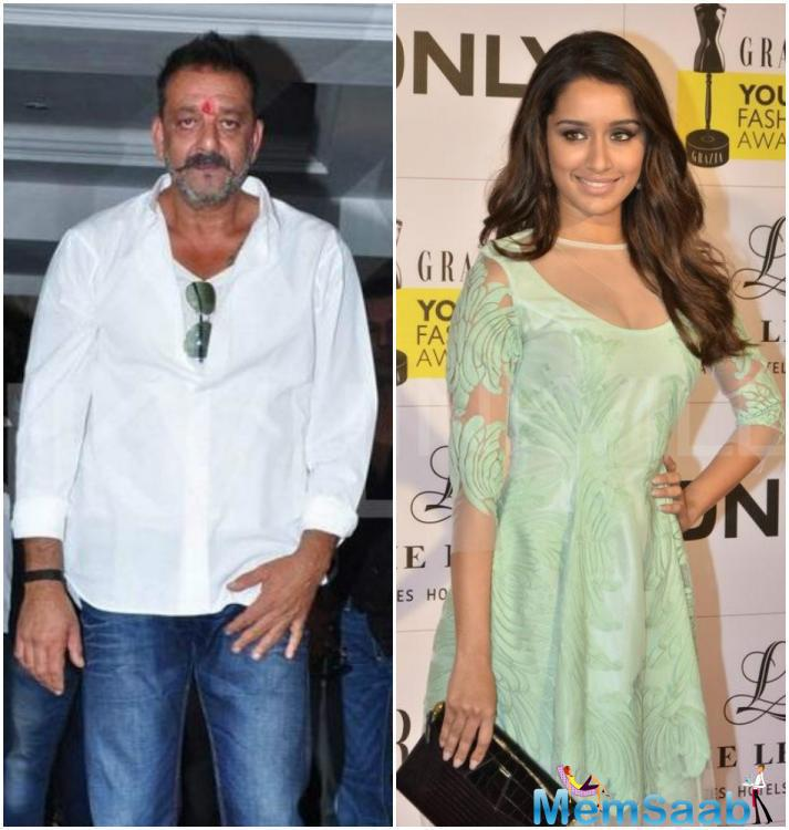 When asked if she is executing the film opposite Mr Dutt, Shraddha told PTI,