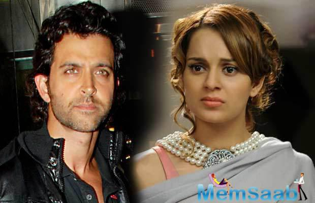 Hrithik Roshan had sent Kangana a legal notice after she referred to him as her 'silly ex' in public.