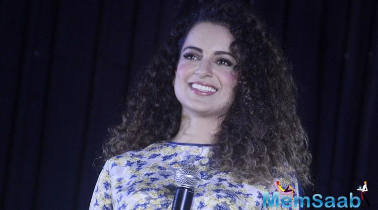 Kangana Ranaut has not done anything wrong. She is a strong girl. She is cut off from all this as she is busy with work.