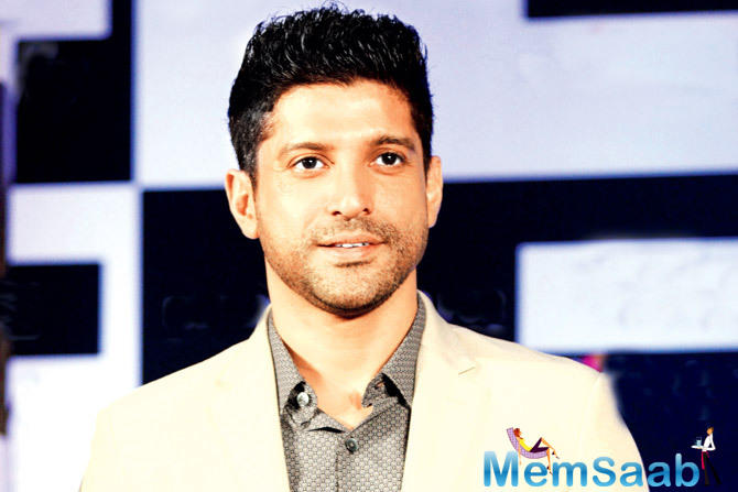 On the work front, actor  Farhan Akhtar will next be seen in Rock On 2. The film also stars Arjun Rampal, Shraddha Kapoor and Prachi Desai.