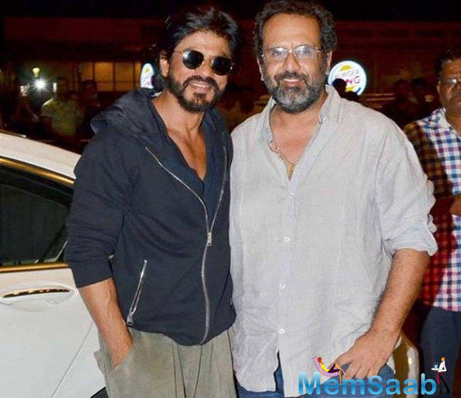 The 44-year-old director, who is riding high on the success of his two consecutive films- 'Raanjhanaa' and 'Tanu Weds Manu: Returns', was all praise for SRK.