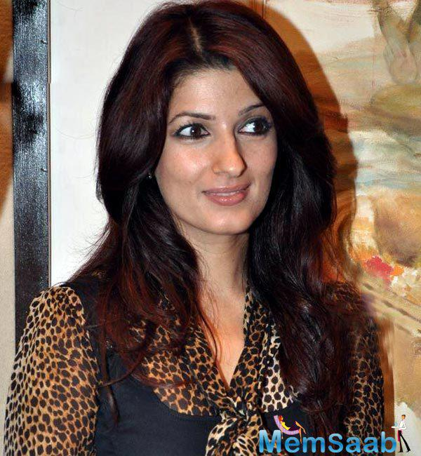 Actress-turned-author Twinkle Khanna says a movie's story is cooking in her mind.