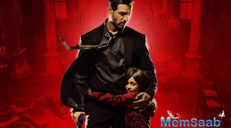 'Rocky Handsome' is an adrenaline pumping action film with a strong emotional story of the relationship between a father who never had a daughter and a seven-year-old daughter who never had a father.
