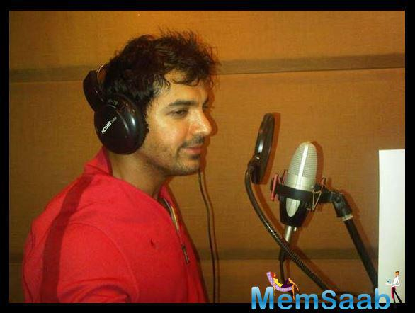 If sources are to believe then it was John Abraham's idea to croon the song. It was an impromptu decision of the actor.