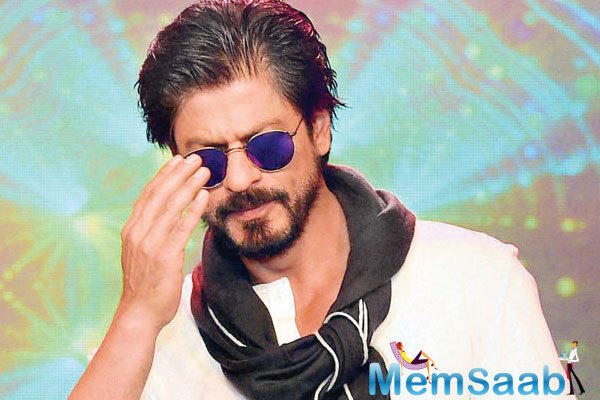 Currently SRK is filming for Gouri Shinde's untitled project opposite Alia Bhatt  and also shooting for Raees.