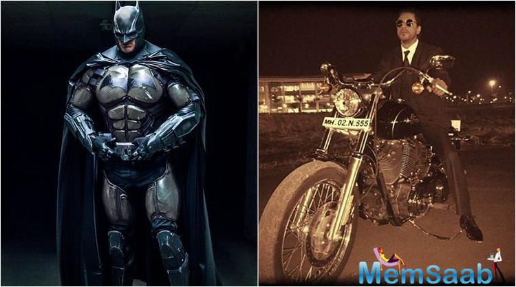SRK, who received an award for being the global style icon of the year, said, 'I have read all comics but Batman is my all-time favourite'.