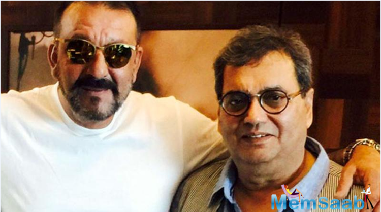 It is no secret that Bollywood showman Subhash Ghai, and his 'Khalnayak' actor Sanjay Dutt have always shared a close friendship.