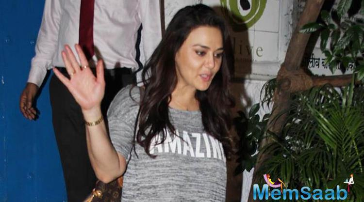A metropolitan magistrate's court here today acquitted actress Preity Zinta in a cheque bouncing case filed by a script writer.