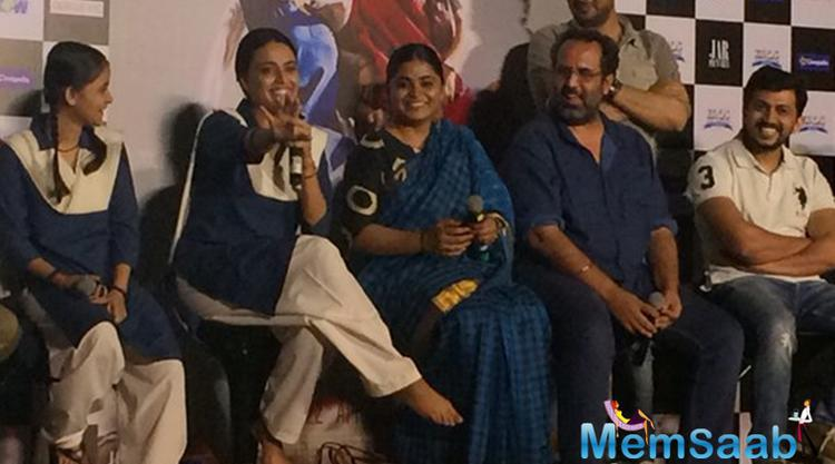 Director Ashwiny Iyer Tiwari said, 'Nil Battey Sannata is a simple story, developed over a year with my team of writers with all the insights i have closely watched in our country'.