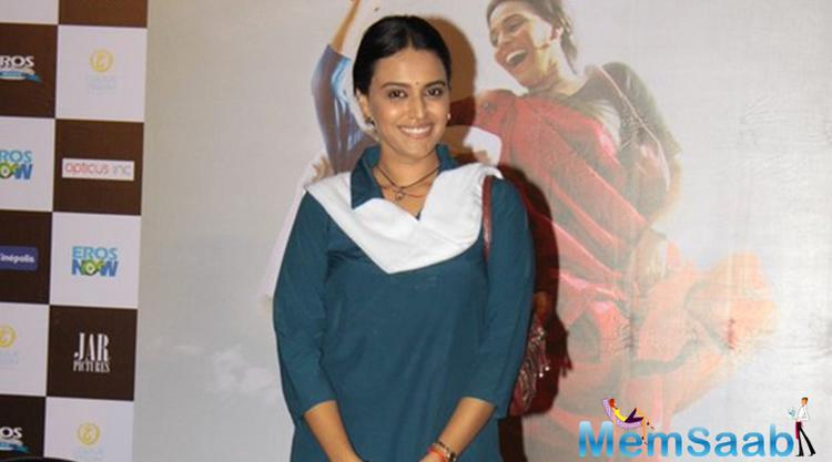 'When Ashwiny offered me 'Nil Battey Sannata', I thought it would be career suicide to play a mother of a 15 year old on screen, Swara Bhaskar said at the trailer launch.