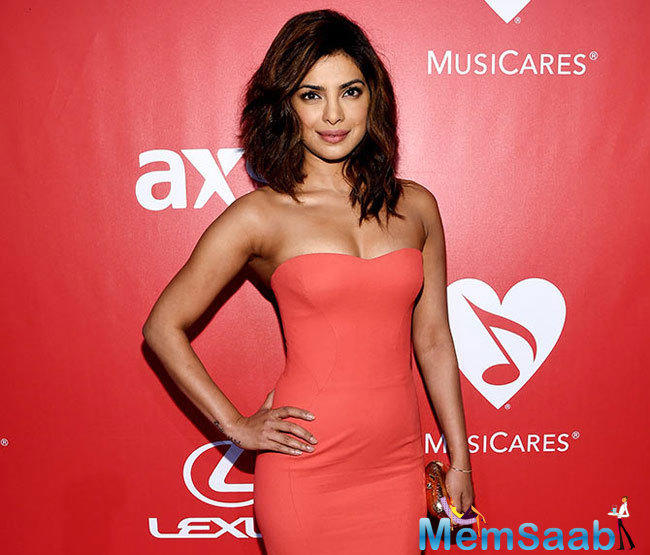Recently, she was seen in Prakash Jha's Jai Gangaajal. Priyanka will also be seen on Baywatch along with Hollywood stars Dwayne Johnson and Zac Efron.