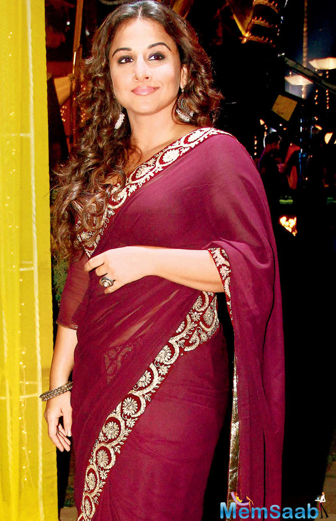 Vidya Balan said I'm shooting for K2 at the moment, so, unfortunately, I'm not going to be celebrating, unless we do something on the set.