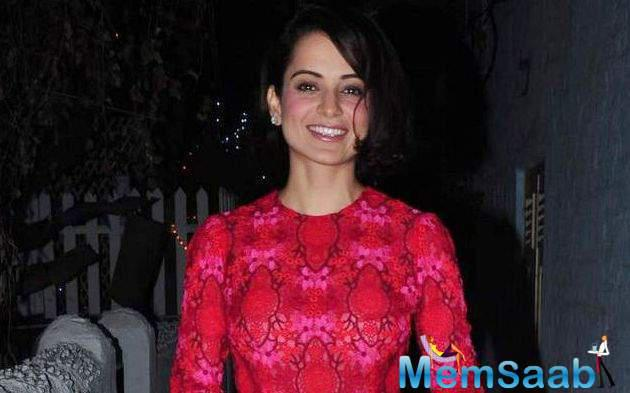 The busy actress Kangana Ranaut only allotted one hour to the event and 30 minutes to the press conference.
