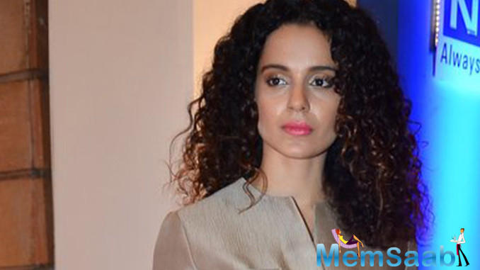"Kangana Ranaut further added, ""It is not that I won't talk about it. I will, but as of now please grant me that space and let's talk about what we are here for."""