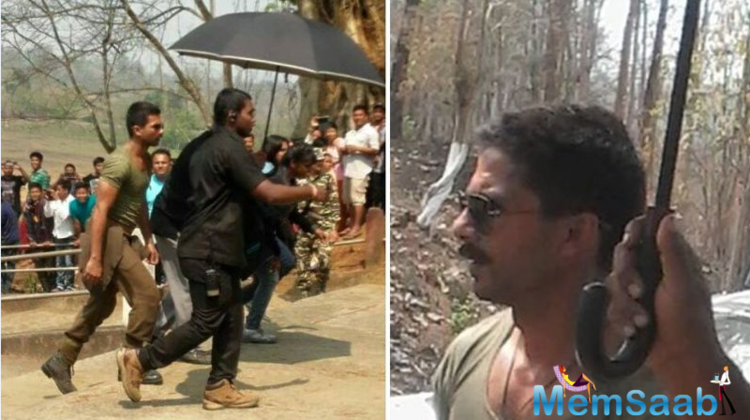 Shahid Kapoor said that this was the 'most demanding and exhausting schedule' of the film 'Rangoon'.