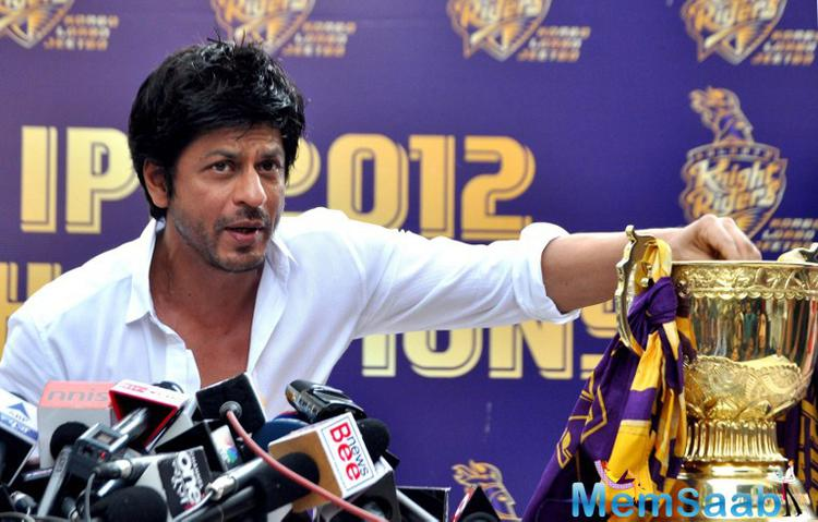Earlier, Shah Rukh expressed regrets at not joining other fans during the India-Pakistan match at the Eden Gardens in Kolkata. That match was witnessed by many Bollywood celebrities including Amitabh Bachchan, Sbhishek Bachchan and Aftab Shivdasani.