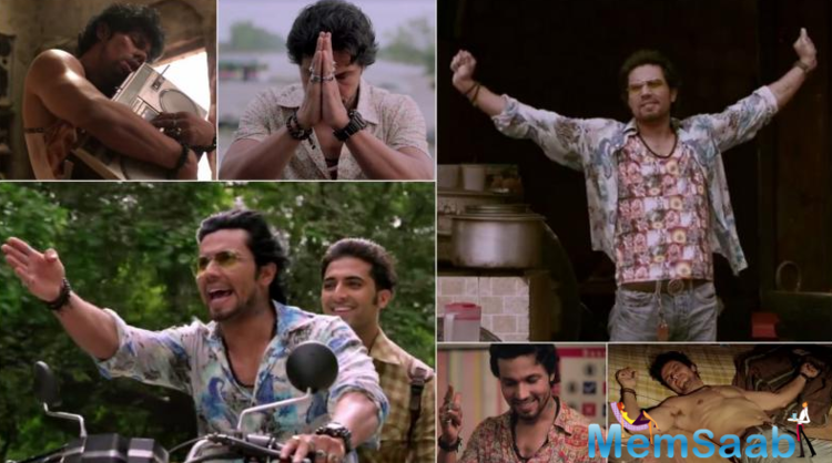 After releasing movie's first motion poster, Randeep Hooda made everyone's day by releasing the first look of his character Shankar in the film.