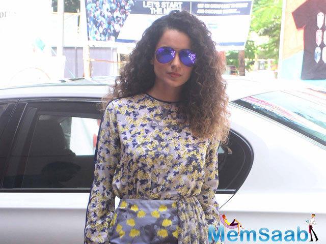 A girl from Gujarat in California, that's who Kangana Ranaut will play in Hansal Mehta's Simran once she is done with Vishal Bhardwaj's film Rangoon.